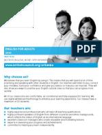 Srilanka Learning English for Adults Large Print