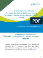 20170908 Concytec Regina