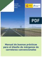Manual de buenas prácticas  para el diseño de márgenes de  carreteras convencionales