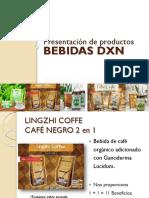 Presentacion de Bebidas Dxn