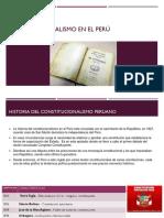 Constitucionalismo en El Perú