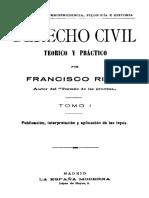 Ricci Curso 01