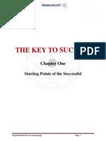 The Key to Success by Imam Ahmad Ibn Hanbal