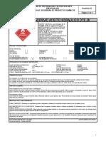 Aceite Hidraulico Dte 26 Ficha de Seguridad