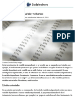 Diferencias Entre Análisis Bivariado y Multivariado _ Cuida Tu Dinero
