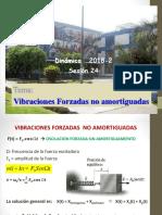 Sesion 9-2018-2-Vibraciones Forzadas Sin Amortiguador