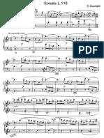 Scarlatti Sonate Per Pianoforte (110)