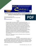 Um Referencial Teórico Para Investigar as Concepções de Alunos de Graduação Em Matemática Sobre Demonstrações