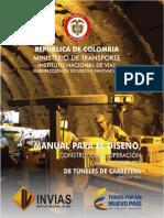 Invías 2016 - Manual de Túneles Para Colombia 1ed (1)