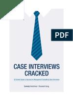 Case Interviews Cracked (Entire)