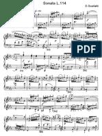 Scarlatti Sonate Per Pianoforte (114)