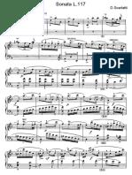 Scarlatti Sonate Per Pianoforte (117)