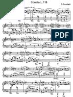 Scarlatti Sonate Per Pianoforte (118)