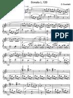 Scarlatti Sonate Per Pianoforte (120)