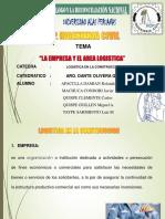 empresa y area logistica