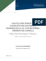 Modelo Para El Calculo de Pci Del Pavim.