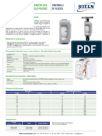 Flussimetro Per Piccole Portate L Riels Instruments