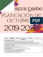 00 Octubre - 3er Grado 2019
