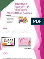 Aprendiendo Ludicamente Las Operaciones Matematicas Basicas