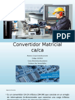 Convertidor Matricial Ac