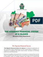 The Nigerian Financial System at a Glance- Monetary Policy Department