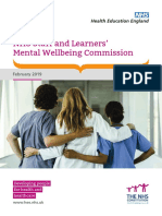NHS (HEE) - Mental Wellbeing Commission Report