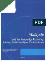 Malaysia Knowledge Economy 2007