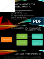 Financiamiento Por Arrendamiento