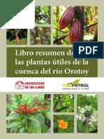 Libro Plantas Útiles de La Cuenca Del Río Orotoy