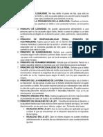 10 Principios de Legalidad Derechos Humanos