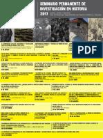 Programa Seminario Permanente de Investigacion en Historia 2017 PDF 167 Mb 131086 0 5105