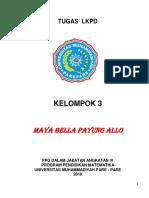LKPD Relasi dan Fungsi