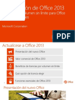 Introducing Office 2013 - Open VL Customer Pitch Deck_ES