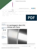 A Vantagem Dos UV_ Tintas Em Foco _ FlexoTech