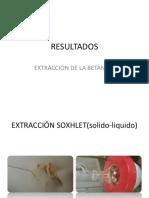 Extracción de La Betanina