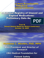 A National Registry of Unused and Expired Medications