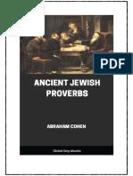 proverbs of jewish origin
