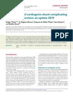 Choque cardiogénico 2019 ESC