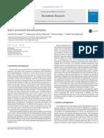 Articulo sobre trombocitopenia en sepsis