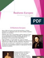 El Movimiento Realista en Europa