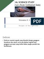 Ppt Pencegahan Delirium Pada Pasien Lansia Rapuh