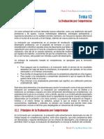 Tema 12-Evaluación Por Competencias