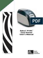 Zebra P100i - Zebra P100i Plastic Card Printers
