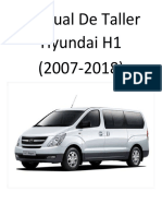 Hyundai H1 (2007-2018) Manual de Taller