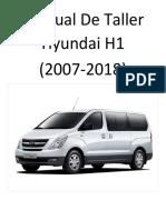 Hyundai H1 (2007-2018) Manual de Taller