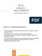 Thermo Lec1 Basic Concepts