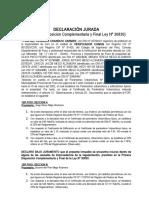 DECLARACION JURADA VERIFICADOR