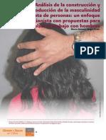 Análisis de la construcción y reproducción de la Masculinidad