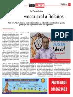 Piden revocar aval de Oscar Bolaños en Puerto Gaitán
