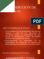 Modelo de distribución de Poisson